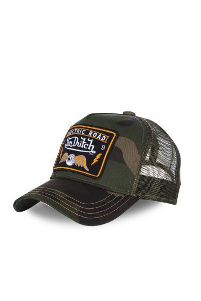 camouflagefarbene Herren-Cap Von Dutch              title=