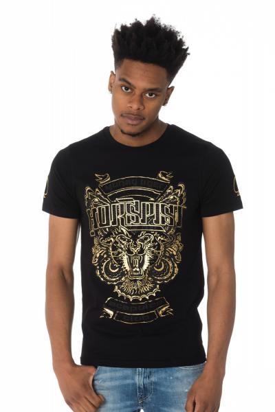 Tee Shirt Homme horspist DALLAS M500 BLACK/GOLD