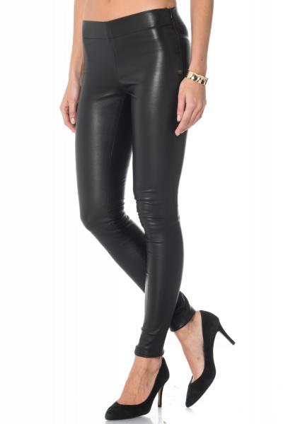 Legging en cuir stretch Cityzen              title=