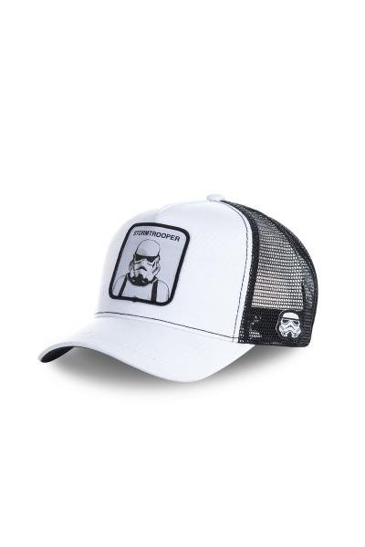 Casquette Homme COLLABS TRUCKER STORMTROOPER WHITE