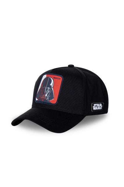 schwarze Herren Kappe mit Darth Vader              title=