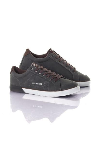 Chaussures grise cognac              title=
