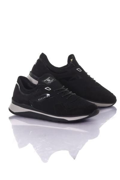 schwarze Herren Textil Sneakers              title=
