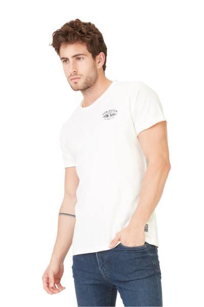 Tshirt blanc avec logo Von Dutch