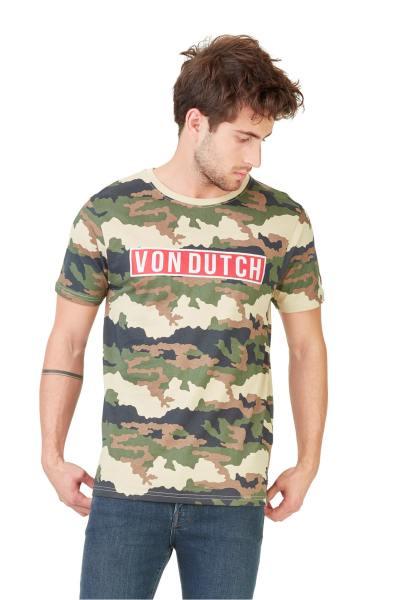 Tee shirt camouflage Von Dutch              title=