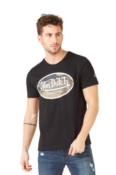 Tee shirt noir avec logo              title=