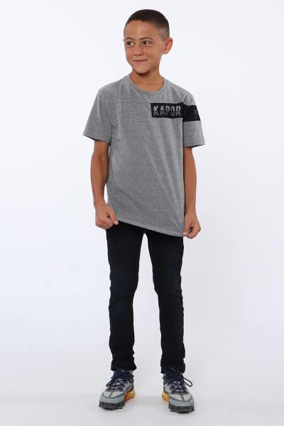 T shirt enfant gris               title=