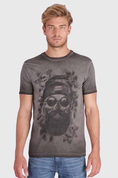 Tee Shirt Homme Kaporal OBOK DARK GREY M