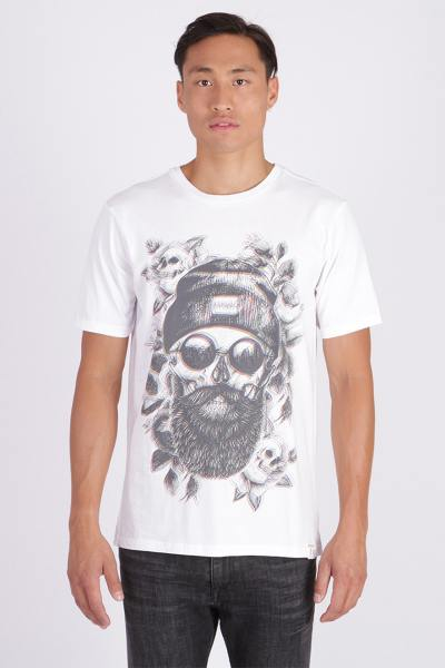 Tee Shirt Homme Kaporal OBOK WHITE