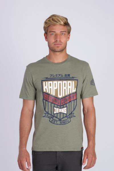 Tee Shirt Homme Kaporal ORZO ARMY