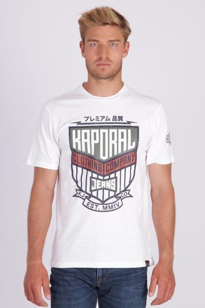 Tee Shirt Homme Kaporal ORZO WHITE