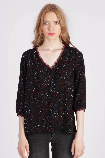 Tee Shirt Femme Kaporal PIDOU BLACK