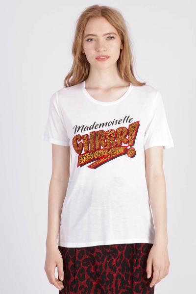 damen T-shirt kaporal XARGO OPTICAL WHITE              title=