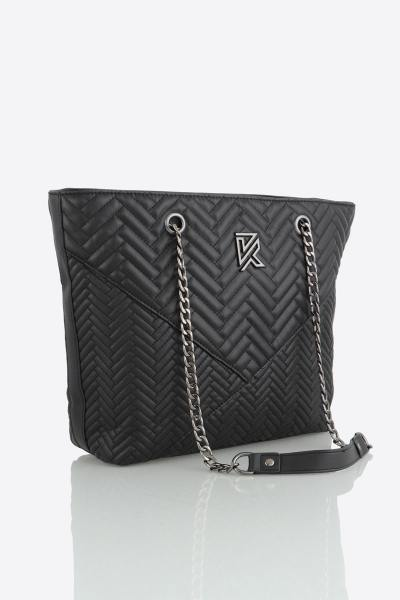 Schwarze Damen-Tasche               title=