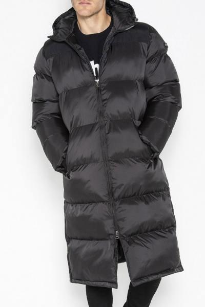 Doudoune longue homme noire