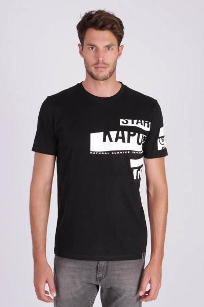 Tee-shirt sportswear noir              title=