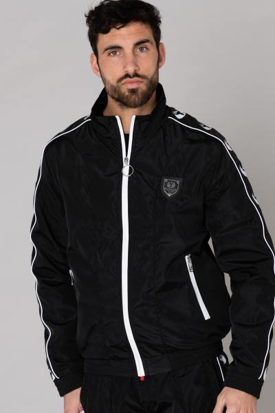 herren Mantel horspist SWEAT ODDO BLACK              title=