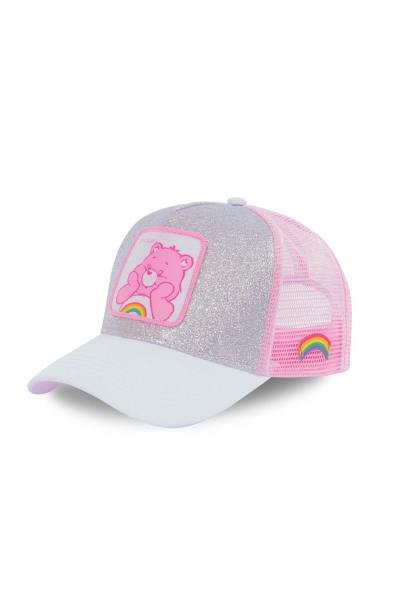 casquette rose bisounours               title=