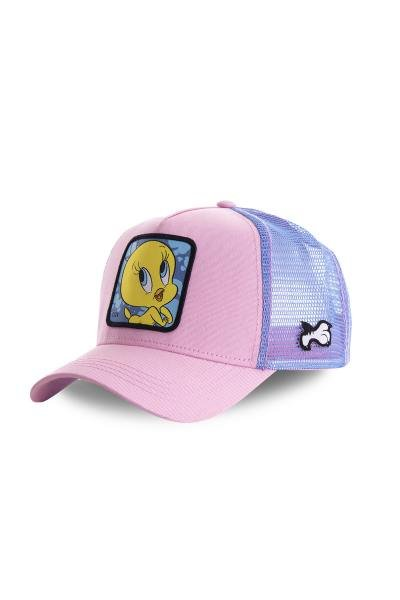 casquette looney tunes tweety rose pailette              title=