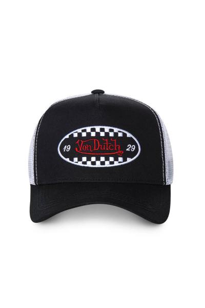 casquette von dutch fin black              title=
