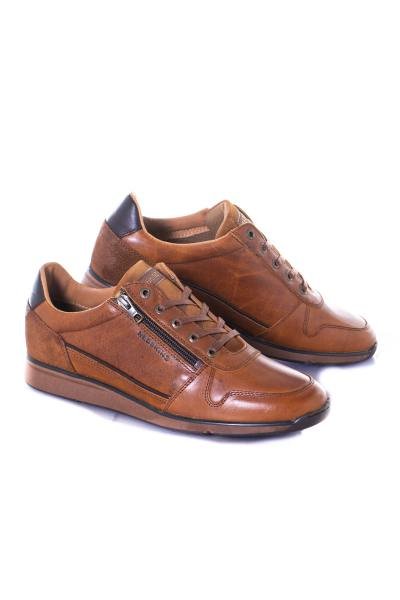 herren Ledersneakers chaussures redskins CROUSTILL COGNAC CHATAIGNE              title=
