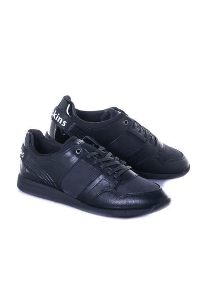 herren Ledersneakers chaussures redskins LAURIER NOIR NOIR              title=