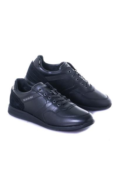 herren Ledersneakers chaussures redskins CORENTIN NOIR              title=