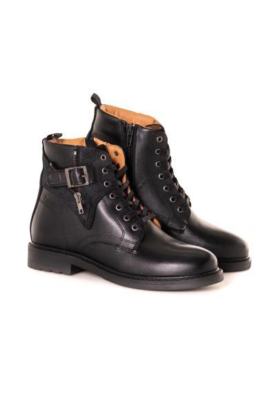 Boots / bottes femme chaussures redskins FELINE NOIR              title=