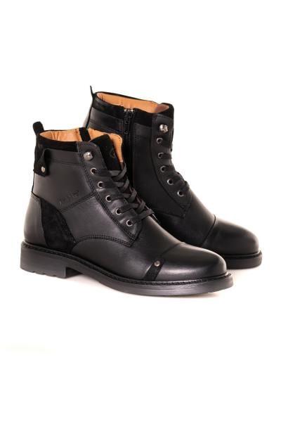 Boots / bottes femme chaussures redskins FLORINE NOIR              title=