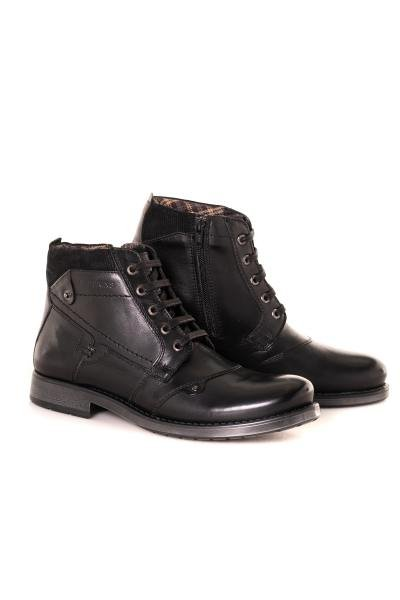 Boots / bottes homme chaussures redskins NOYER NOIR              title=