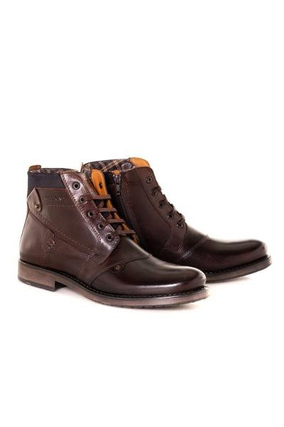 Boots / bottes homme chaussures redskins NOYER BRANDY MARINE              title=