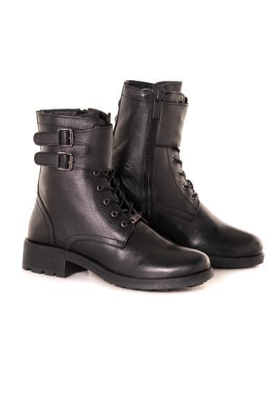 Boots / bottes femme les tropeziennes par m belarbi LACIS NOIR              title=