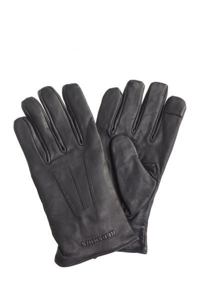 Paire de gants noir homme