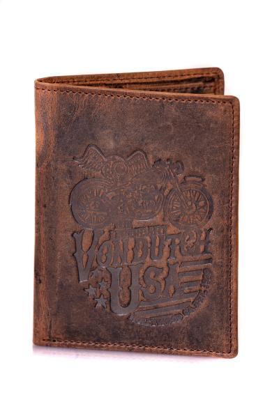 Vintage Leder Brieftasche für Männer
