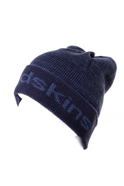 Bonnet bleu avec logo              title=