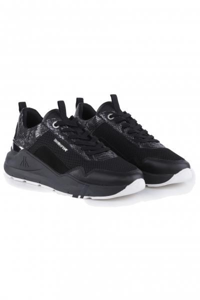 herren Ledersneakers horspist CONCORDE PYTHON BLACK              title=