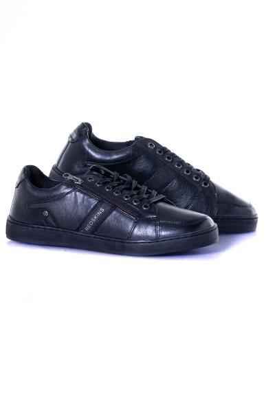 herren Ledersneakers chaussures redskins MARIAL NOIR