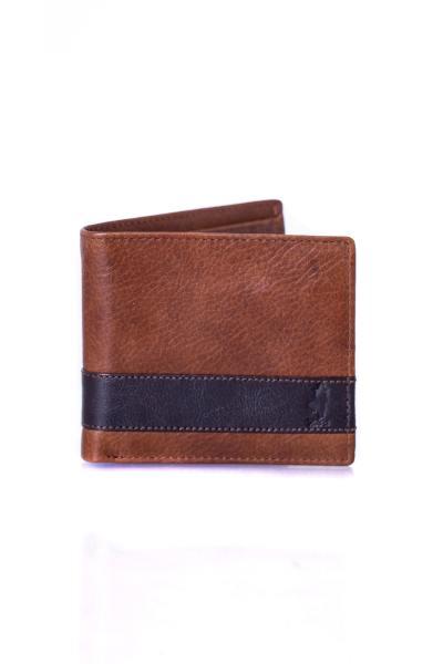 herren Brieftasche mcs PORTEFEUILLE P021 215 MARRON