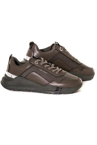 herren Ledersneakers horspist CONCORDE2 KAKI