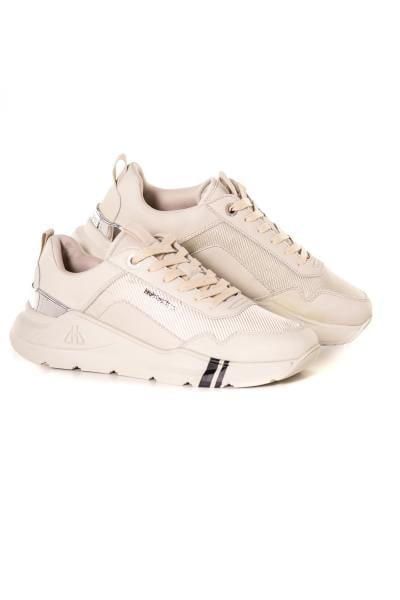 herren Ledersneakers horspist CONCORDE2 SAND