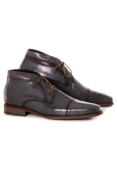 Chaussures à lacets homme le formier SAO ANTHRACITE
