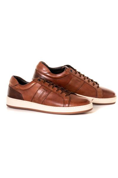 herren Ledersneakers chaussures redskins COMPRIS COGNAC