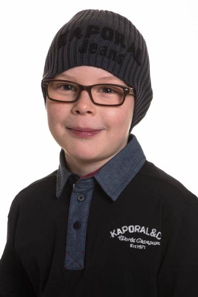 Bonnet Enfant Kaporal HABY CENDRE