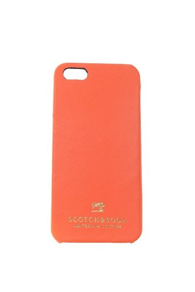 Coque Iphone 5 Scotch and Soda orange              title=