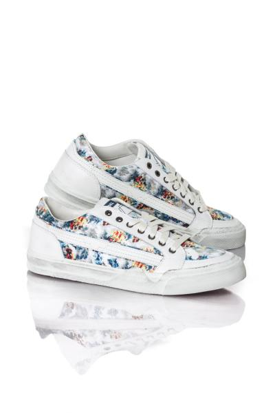 Baskets en cuir Homme Diesel S-GRIND LOW LACE MULTICOLOR