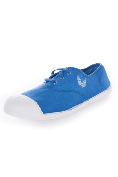blaue Stoffturnschuhe KAPORAL