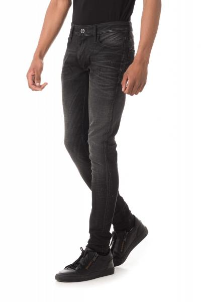 Jean skinny noir homme               title=