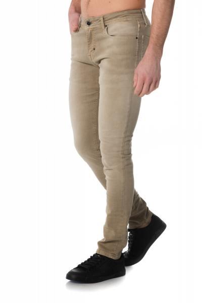 Jean skinny homme beige Antony Morato