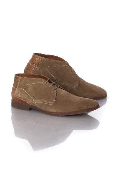 Bottines aspect daim beige Redskins              title=