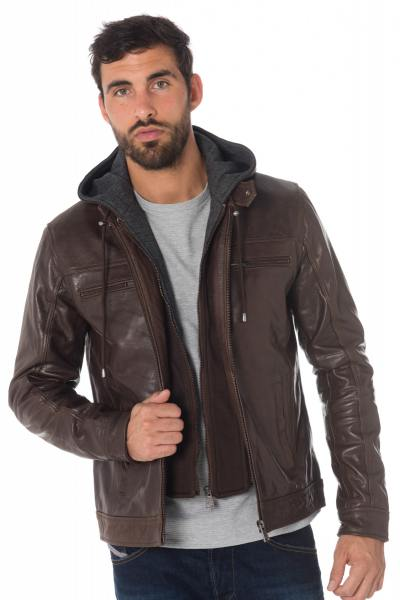 Blouson Homme Cityzen SEATTLE 2 BROWN